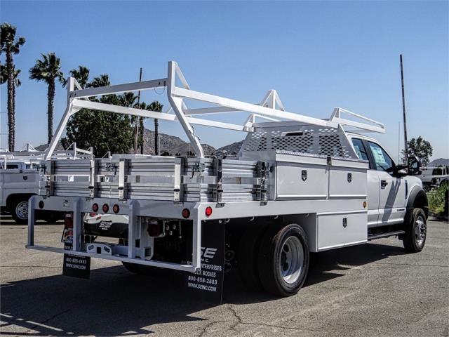 2019 F-550 Super Cab DRW 4x2,  Scelzi CTFB Contractor Body #FK4526 - photo 4