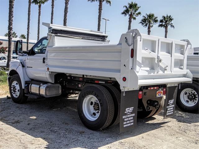 2019 F-650 Regular Cab DRW 4x2,  Scelzi Dump Body #FK4545 - photo 2