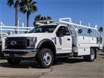 2019 F-550 Regular Cab DRW 4x2, Royal Contractor Body #FK4627 - photo 1
