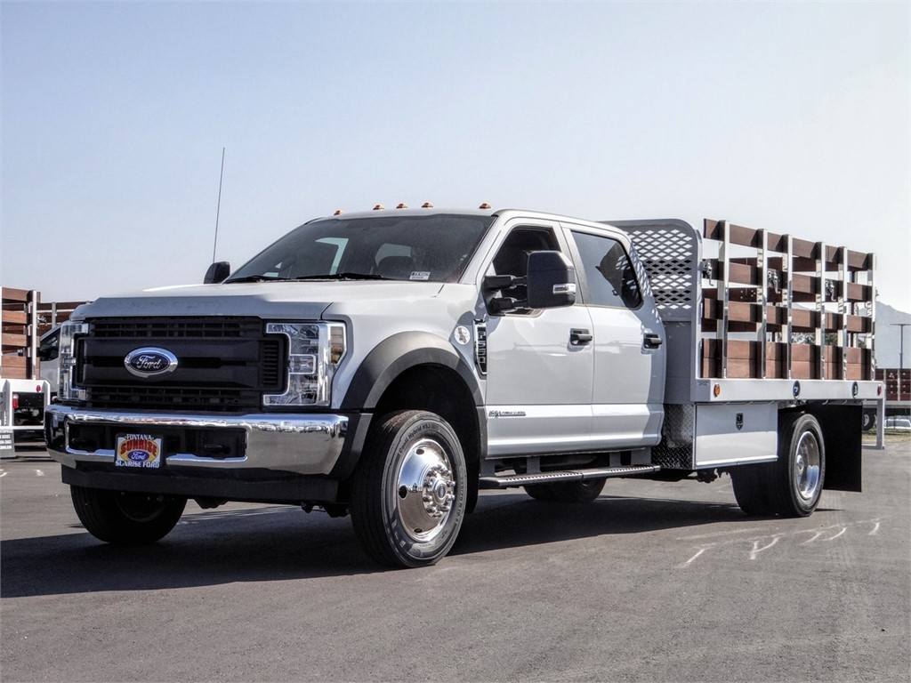 2019 F-550 Crew Cab DRW 4x2, Scelzi Stake Bed #FK4669 - photo 1