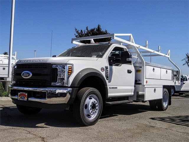 2019 F-550 Regular Cab DRW 4x2, Royal Contractor Body #FK4691 - photo 1