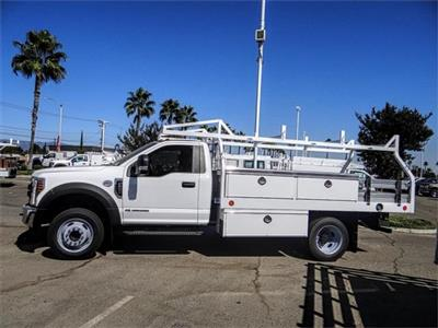 2019 F-550 Regular Cab DRW 4x2,  Royal Contractor Body #FK4691 - photo 3