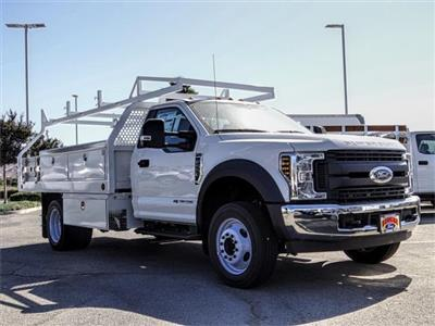 2019 F-550 Regular Cab DRW 4x2,  Royal Contractor Body #FK4691 - photo 6