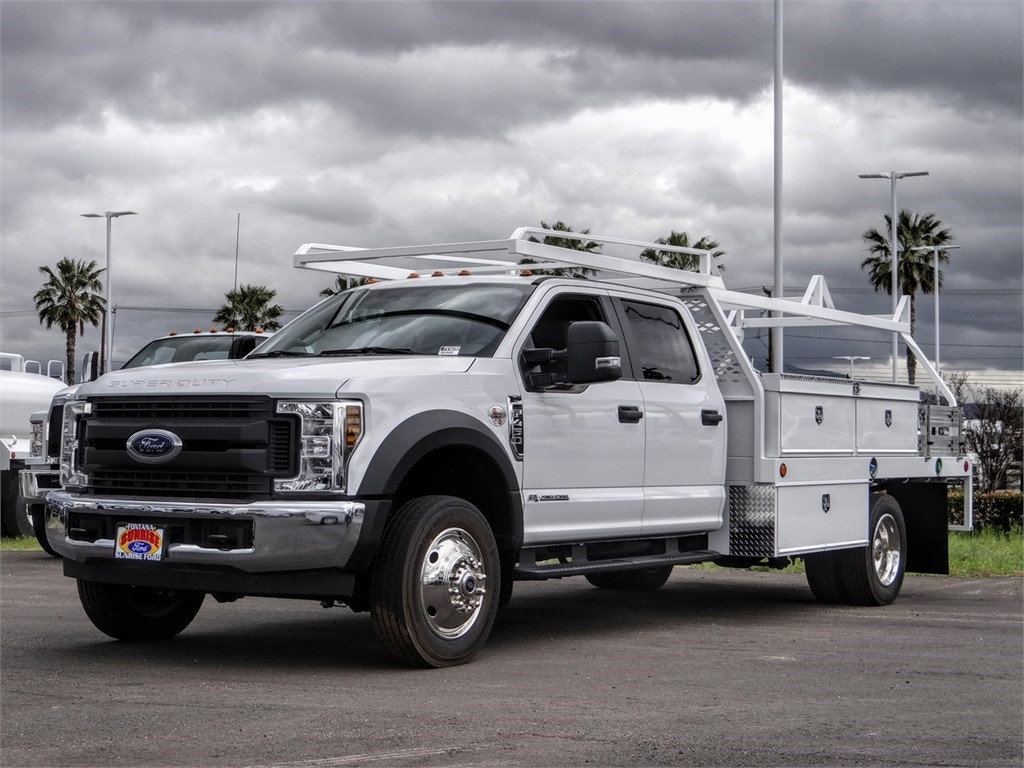 2019 F-450 Crew Cab DRW 4x2, Scelzi Contractor Body #FK4698 - photo 1