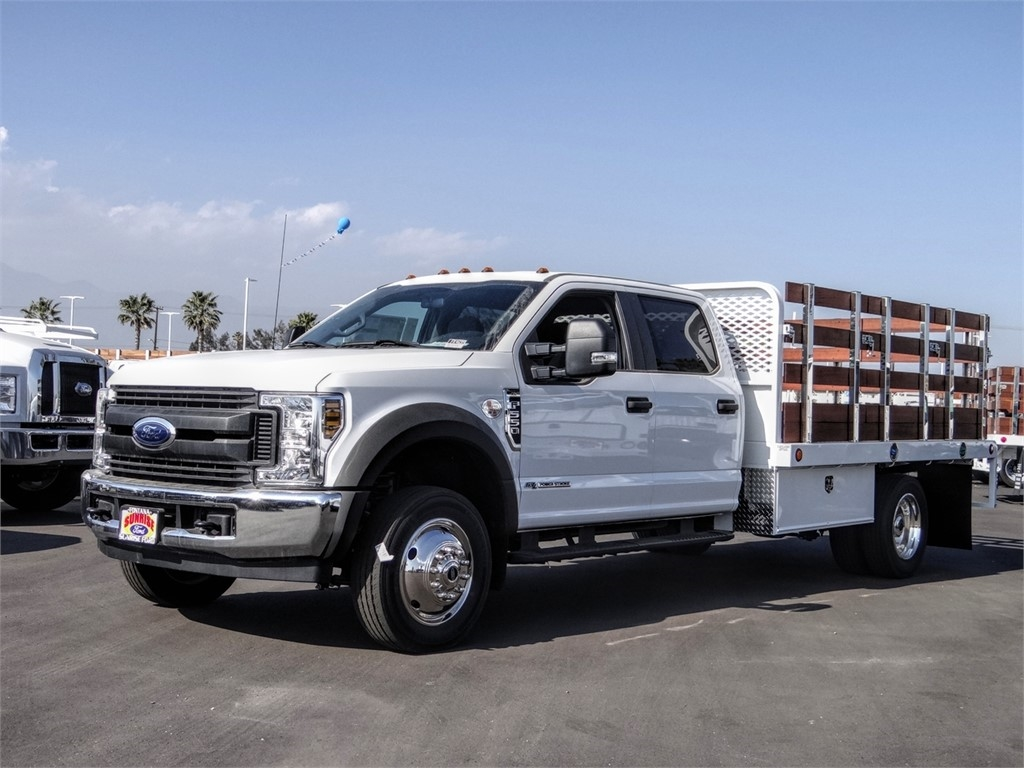 2019 F-550 Crew Cab DRW 4x2, Scelzi Stake Bed #FK4699 - photo 1