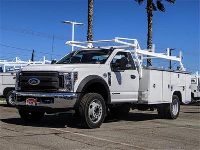 2019 F-450 Regular Cab DRW 4x2,  Harbor TradeMaster Service Body #FK4747 - photo 1