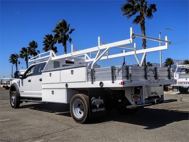 2019 F-450 Crew Cab DRW 4x2, Harbor Contractor Body #FK4749 - photo 1
