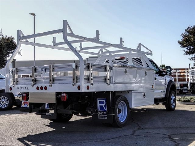 2019 F-550 Regular Cab DRW 4x2,  Royal Contractor Body #FK4808 - photo 4