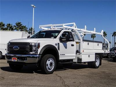2019 F-550 Regular Cab DRW 4x2,  Royal Contractor Body #FK4808 - photo 1