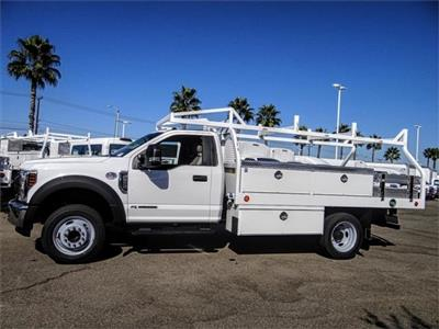 2019 F-550 Regular Cab DRW 4x2,  Royal Contractor Body #FK4808 - photo 3