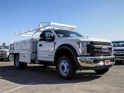 2019 F-550 Regular Cab DRW 4x2,  Royal Contractor Body #FK4808 - photo 6
