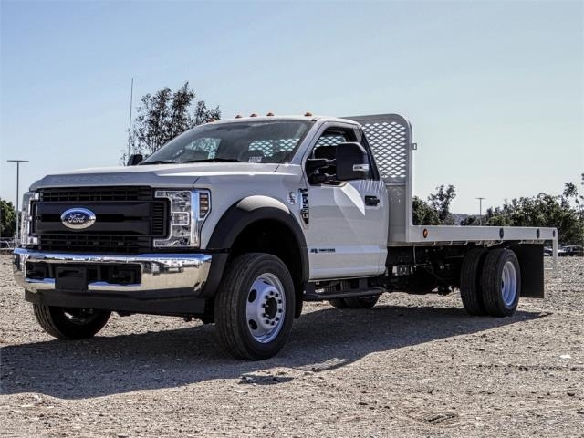 2019 F-550 Regular Cab DRW 4x2,  Scelzi WFB Flatbed #FK4876 - photo 1