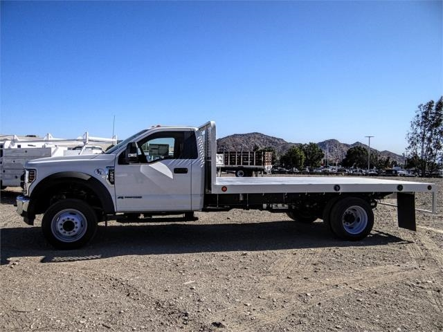 2019 F-550 Regular Cab DRW 4x2,  Scelzi WFB Flatbed #FK4876 - photo 3