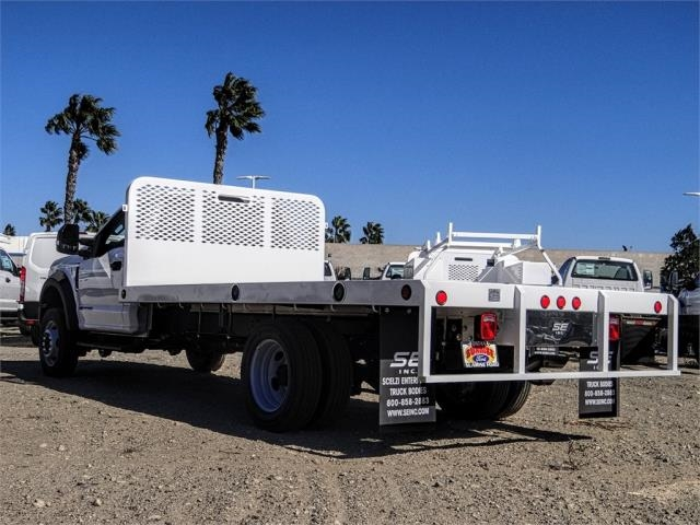 2019 F-550 Regular Cab DRW 4x2,  Scelzi WFB Flatbed #FK4876 - photo 2