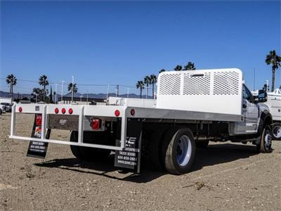 2019 F-550 Regular Cab DRW 4x2,  Scelzi WFB Flatbed #FK4876 - photo 4