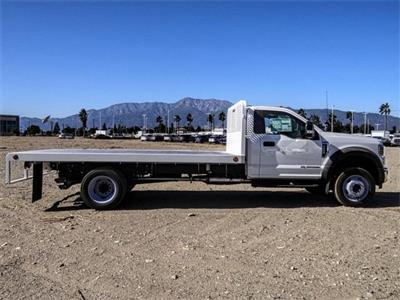 2019 F-550 Regular Cab DRW 4x2,  Scelzi WFB Flatbed #FK4876 - photo 5
