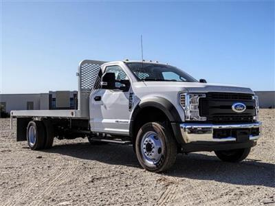 2019 F-550 Regular Cab DRW 4x2,  Scelzi WFB Flatbed #FK4876 - photo 6