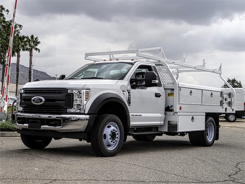 2019 F-550 Regular Cab DRW 4x2, Royal Contractor Body #FK4921 - photo 1