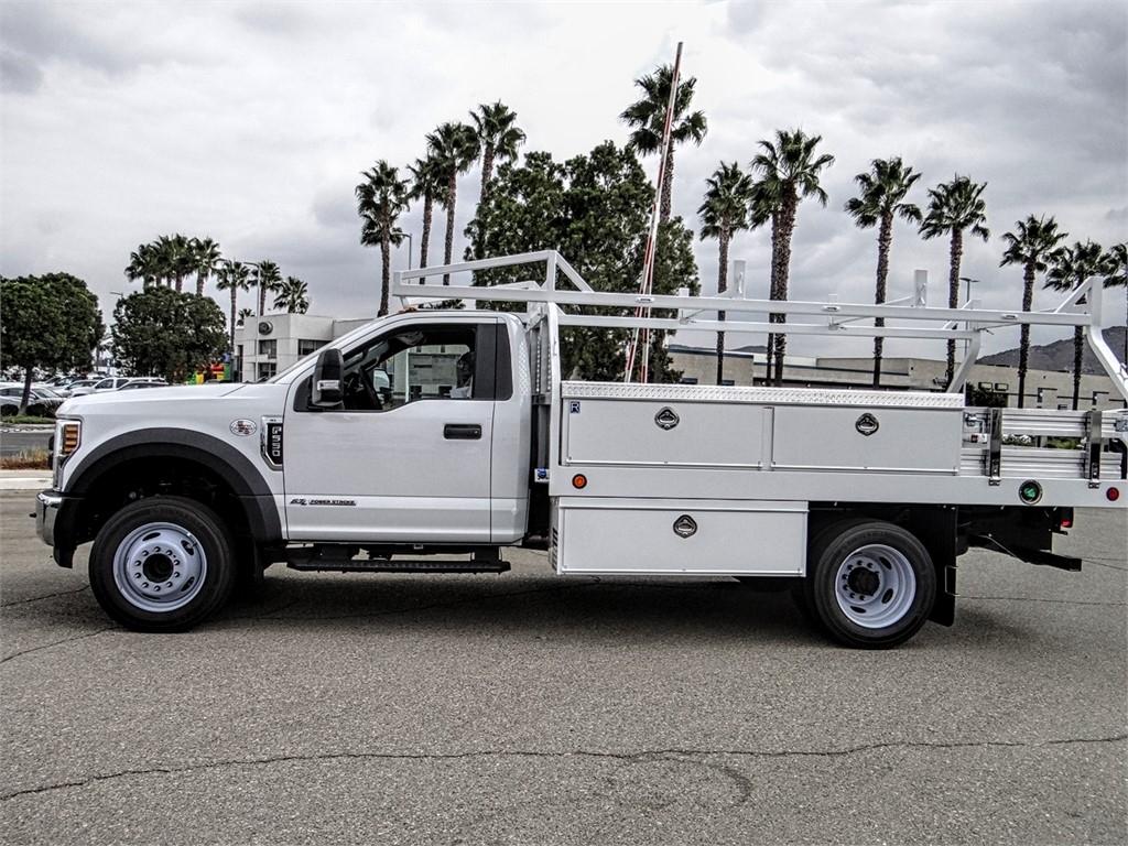 2019 F-550 Regular Cab DRW 4x2, Royal Contractor Body #FK4921 - photo 3