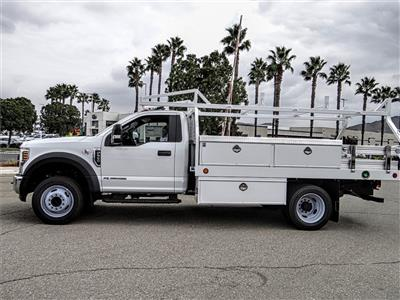 2019 F-550 Regular Cab DRW 4x2, Royal Contractor Body #FK4921 - photo 3