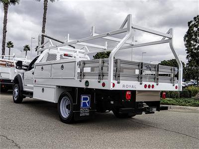 2019 F-550 Regular Cab DRW 4x2, Royal Contractor Body #FK4921 - photo 2