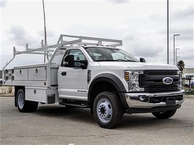 2019 F-550 Regular Cab DRW 4x2, Royal Contractor Body #FK4921 - photo 6