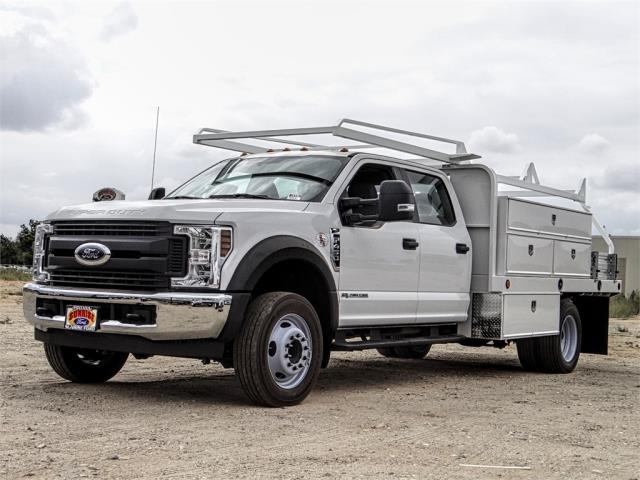 2019 F-450 Crew Cab DRW 4x2, Scelzi Contractor Body #FK4957 - photo 1