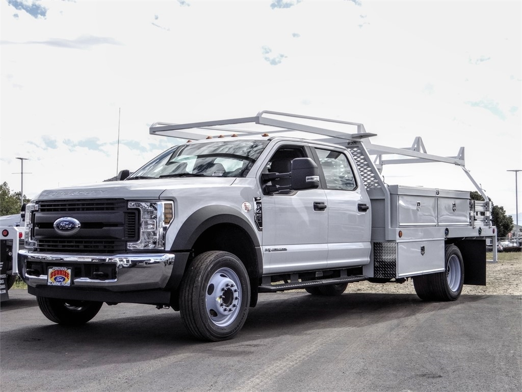 2019 F-450 Crew Cab DRW 4x2, Scelzi Contractor Body #FK5007 - photo 1