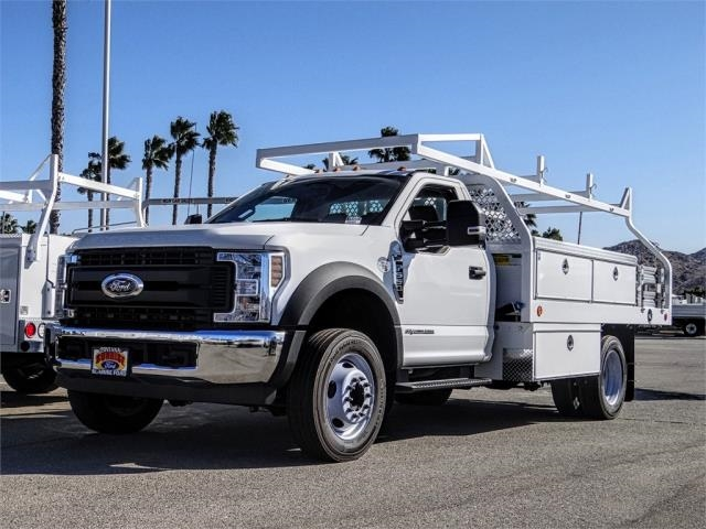 2019 F-550 Regular Cab DRW 4x2, Royal Contractor Body #FK5053 - photo 1