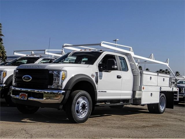 2019 F-550 Super Cab DRW 4x2, Scelzi Contractor Body #FK5192 - photo 1