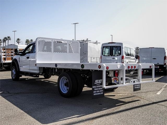 2019 F-450 Super Cab DRW 4x2, Scelzi Flatbed #FK5246 - photo 1