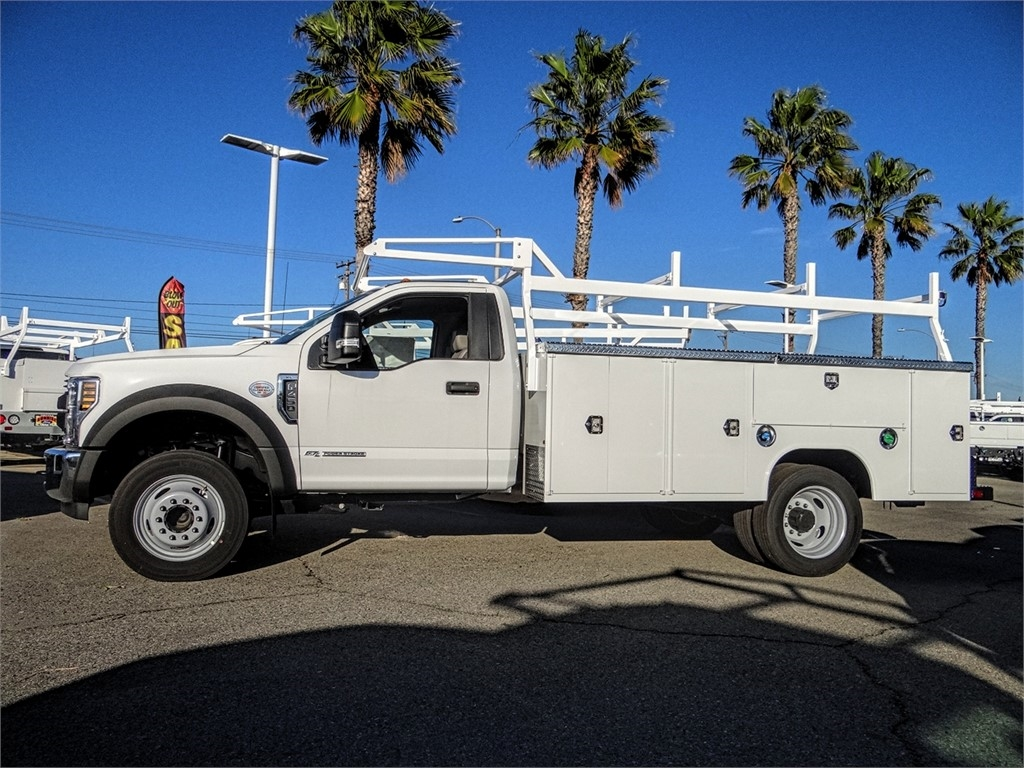 2019 F-450 Regular Cab DRW 4x2, Harbor TradeMaster Service Body #FK5318 - photo 3
