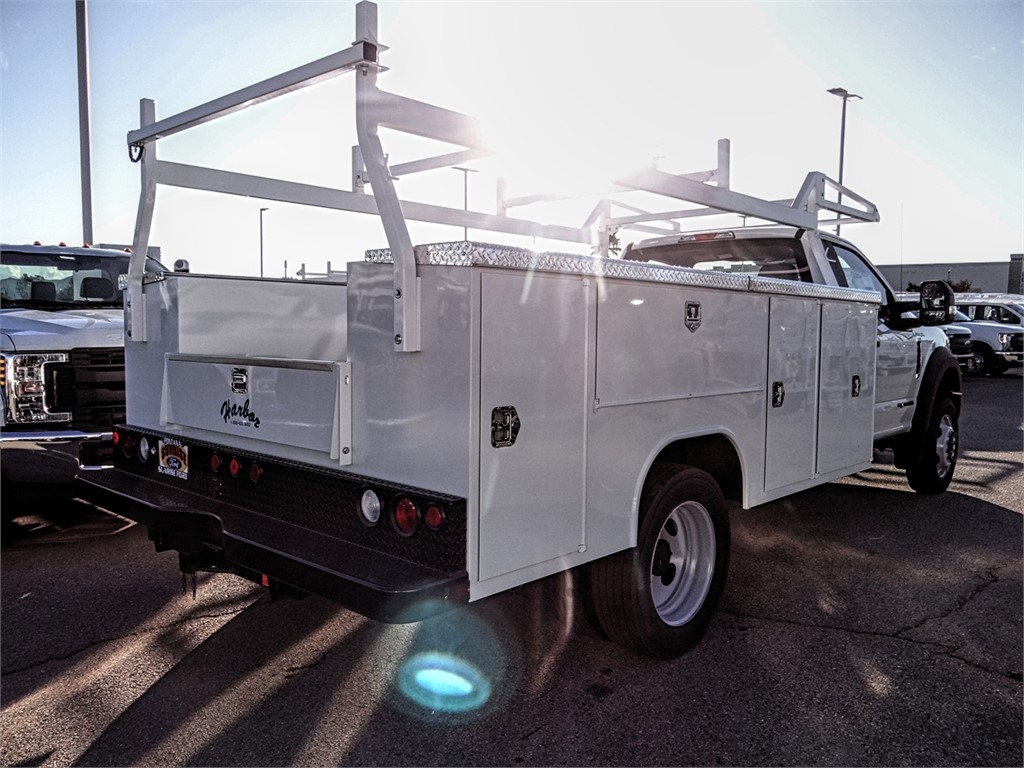 2019 F-450 Regular Cab DRW 4x2, Harbor TradeMaster Service Body #FK5318 - photo 4