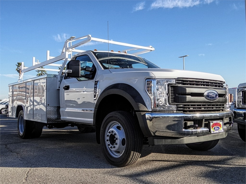 2019 F-450 Regular Cab DRW 4x2, Harbor TradeMaster Service Body #FK5318 - photo 6