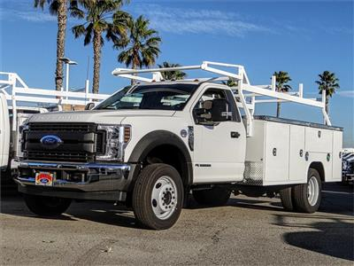 2019 F-450 Regular Cab DRW 4x2, Harbor TradeMaster Service Body #FK5318 - photo 1