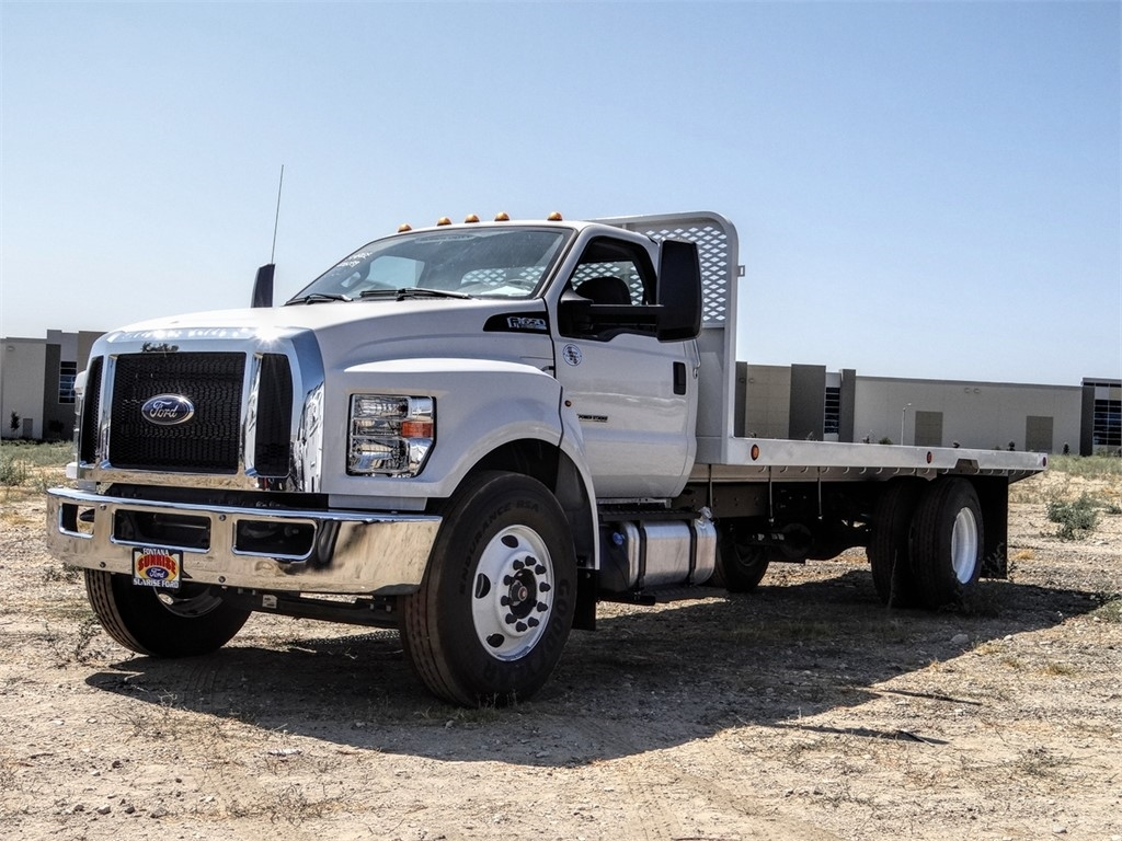 2019 Ford F-650 Regular Cab DRW 4x2, Scelzi Stake Bed #FK5326 - photo 1