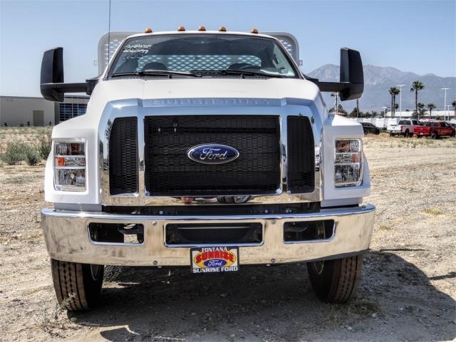 2019 Ford F-650 Regular Cab DRW 4x2, Scelzi WFB Stake Bed #FK5326 - photo 7