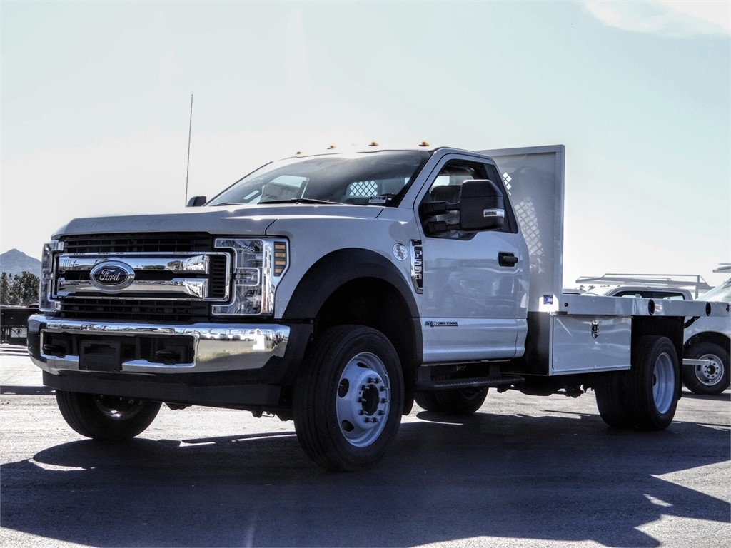 2019 Ford F-550 Regular Cab DRW 4x2, Harbor Flatbed #FK5367DT - photo 1