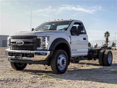 2019 F-550 Regular Cab DRW 4x2, Cab Chassis #FK5378DT - photo 1