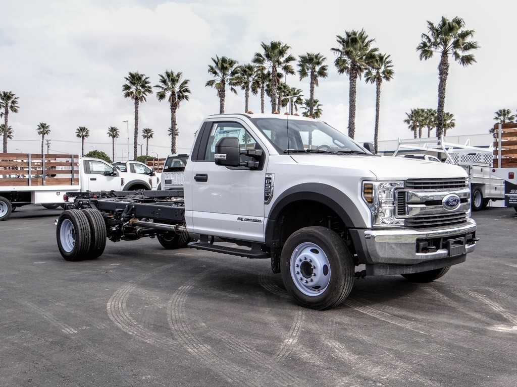 2019 Ford F-550 Regular Cab DRW 4x2, Cab Chassis #FK5385DT - photo 7