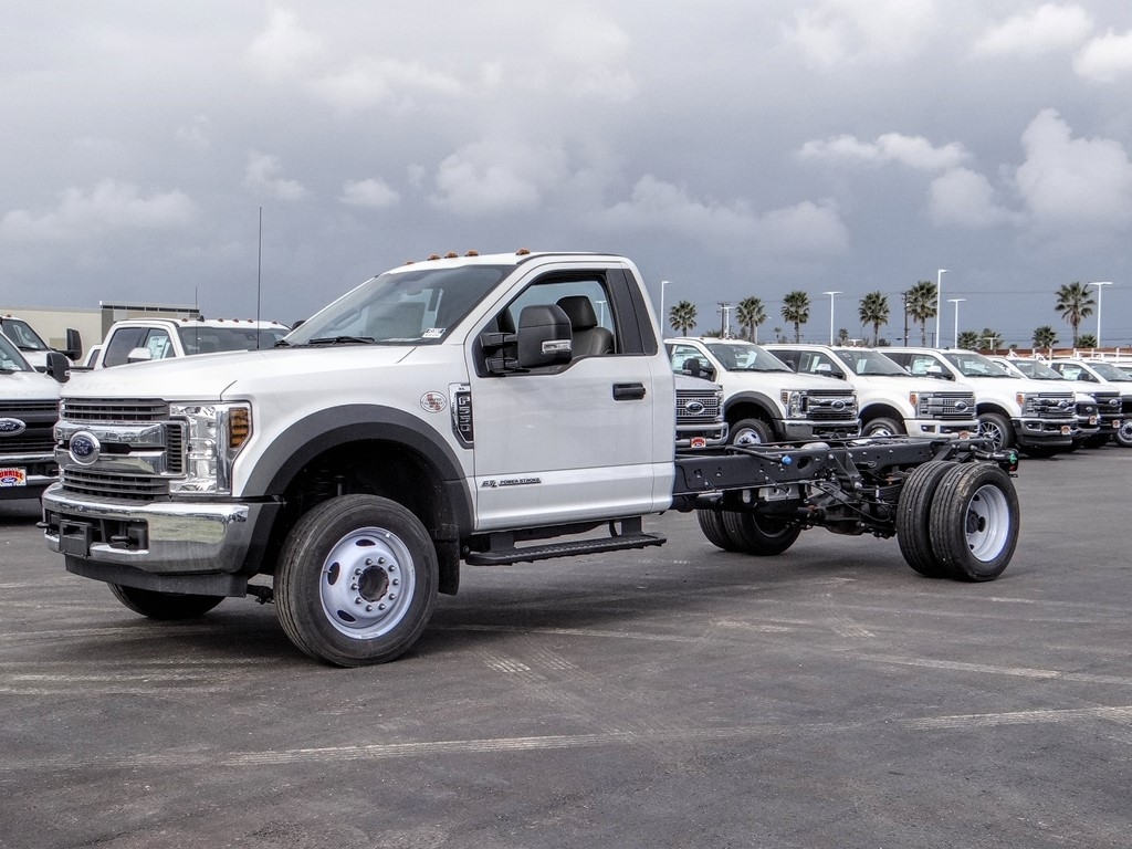 2019 Ford F-550 Regular Cab DRW 4x2, Cab Chassis #FK5385DT - photo 1
