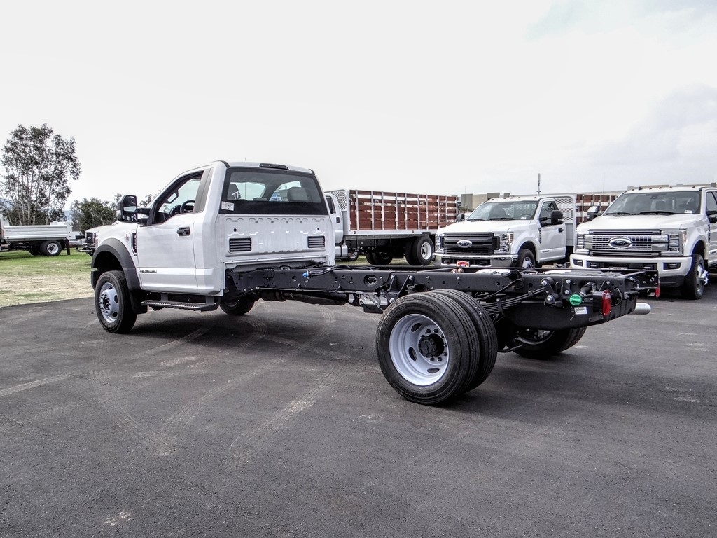 2019 F-550 Regular Cab DRW 4x2, Cab Chassis #FK5385DT - photo 1