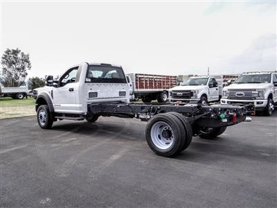 2019 Ford F-550 Regular Cab DRW 4x2, Cab Chassis #FK5385DT - photo 2