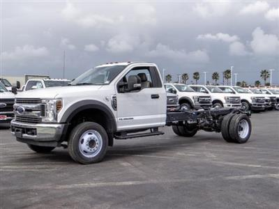 2019 Ford F-550 Regular Cab DRW 4x2, Cab Chassis #FK5399DT - photo 1