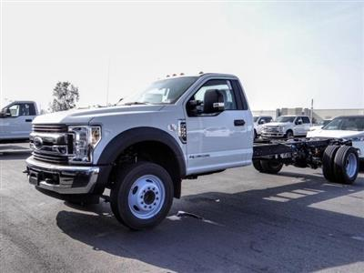 2019 F-550 Regular Cab DRW 4x2, Cab Chassis #FK5418DT - photo 1