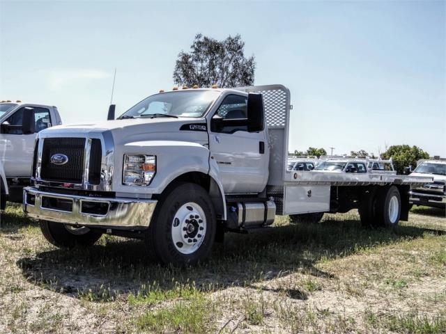 2019 F-650 Regular Cab DRW 4x2, Scelzi WFB Flatbed #FK5497 - photo 1