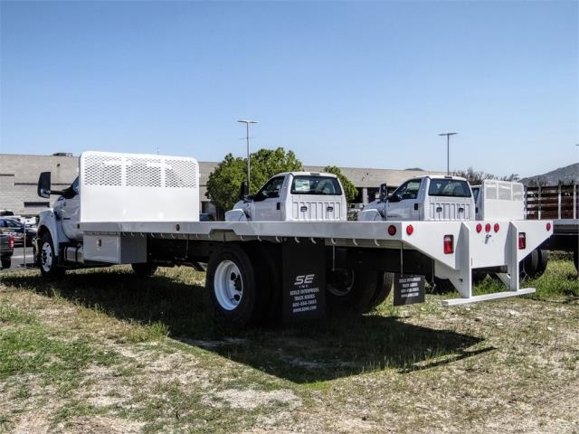 2019 F-650 Regular Cab DRW 4x2, Scelzi Flatbed #FK5497 - photo 1