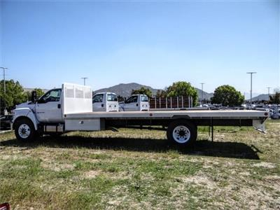 2019 F-650 Regular Cab DRW 4x2, Scelzi WFB Flatbed #FK5497 - photo 3