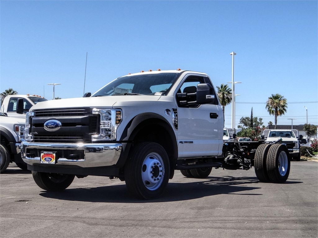 2019 Ford F-550 Regular Cab DRW 4x2, Cab Chassis #FK5537 - photo 1