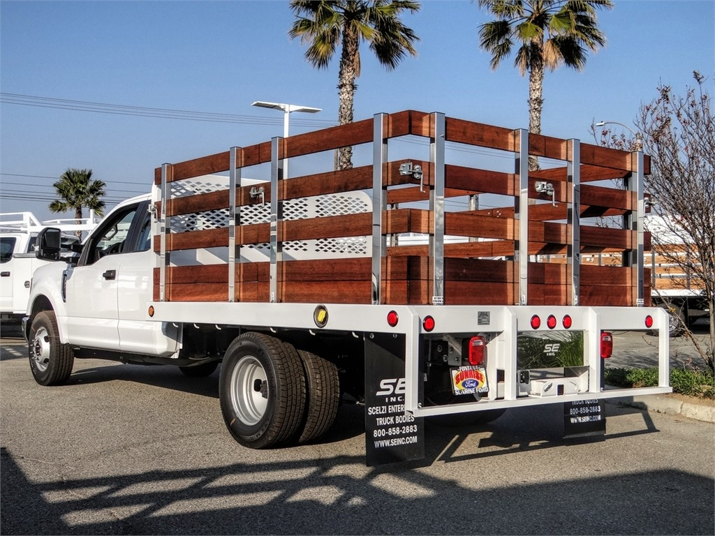 2019 F-350 Super Cab DRW 4x2, Scelzi Stake Bed #FK5567 - photo 1